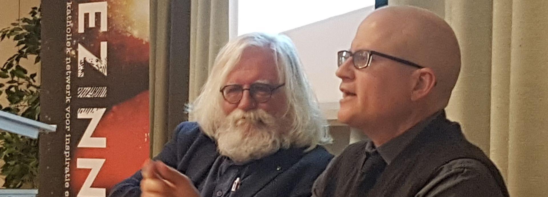 Christian Wiman en Erik Borgman 2019